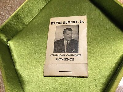 1957 Republican Candidate For Governor Wayne Dumont, Jr Campaign Sewing Kit
