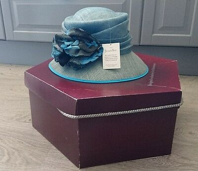 Duck Egg Jacques Vert/Wedding/Occasion/Races/Mother of the Bride/Formal/Hat