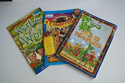 3 Pantomime Programme - Hull New Theatre - 1994, 1995 & 2001