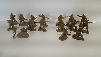 Conte WWII British Paratroopers Sets #1 and #2 16 Figures 16 Poses New Unplayed