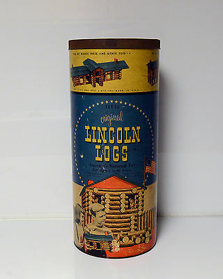 Vintage Lincoln Logs Toys