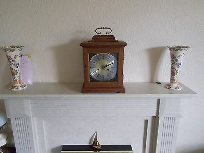 Large Vintage Chimming Carriage Clock. Working.