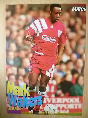 Original Hand Signed Mag Pictures- MARK WALTERS at Liverpool FC (apx. A4 )