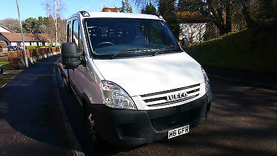 Iveco Daily 35C12 Recovery Truck Crew Cab Transporter Beavertail Body Sleeper