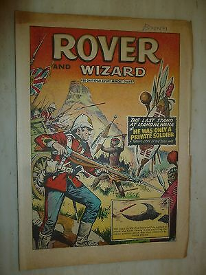 Comic- THE ROVER and WIZARD - 24th February 1968
