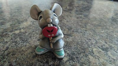 Extremely Rare Pendelfin  Lollipop  Mouse In Grey  First Model 1961-1966