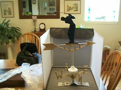 Robbins Lightning Rod Co Golfer Weather Vane--New In Opened Package