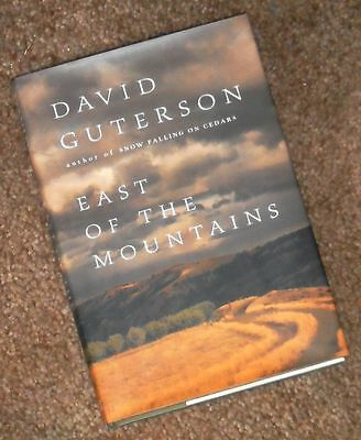 EAST OF THE MOUNTAINS David Guterson 1999 1st Ed First Edition