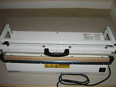 "Uline 24"" Extra long Table Top Polybag Sealer"