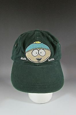 Vintage 1998 South Park Comedy Central Cartman Adjustable Hat Cap
