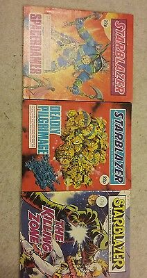 3 starblazer comic early numbers lot 12