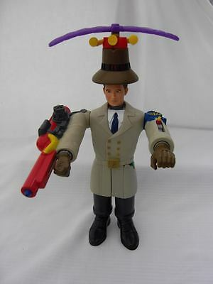 1999 Mcdonalds Disney Inspector Gadget Action Figure Doll