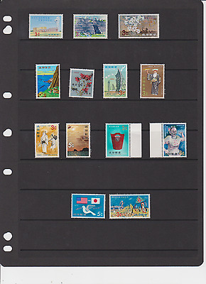 Ryukyus Mnh Stamps And Blocks