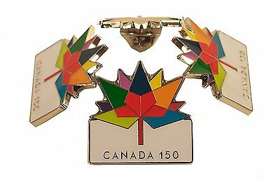 Canada's 150th Anniversary Exquisite Soft Enamel Souvenir Badge Pin
