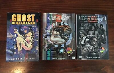 Ghost in the Shell Lot Masamune Shirow 1 1995 Man Machine Interface Human Error