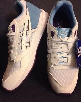NEW ASICS  Women's  GEL-SAGA White Multi Casual Performance Shoes Size 8.5