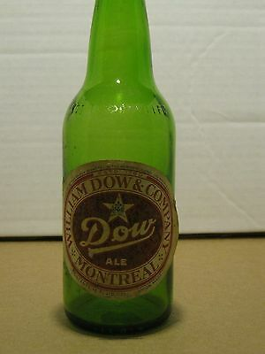 Antique Canadian Beer Bottle, William Dow Ale, 12oz, CANADA, #202