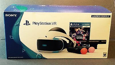 Play Station.vr, Psvr Cuh-Zvri, Sony Launch 2016 Bundle