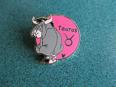 Disney Hidden Mickey Zodiac Collection Eeyore Taurus Pin   Authentic