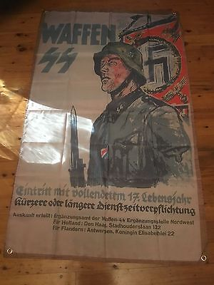 german army 5x3 ft flag for the pool room man cave propaganda poster world war 2