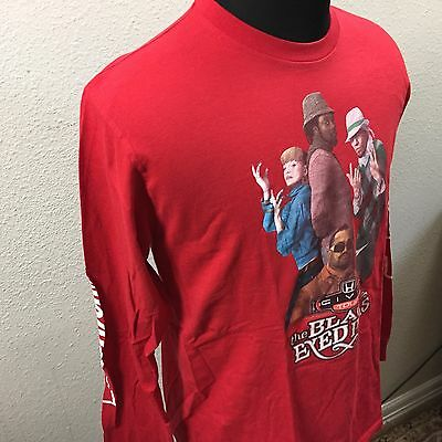 RED BLACK EYED PEAS HONDA CIVIC TOUR CONCERT FERRGIE LS T-SHIRT Size L AD2