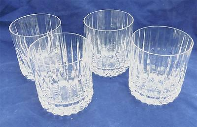 4 Astral PEERAGE Double Old Fashioned Glass (Round,Curved Bowl)