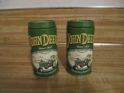 John Deere Salt & Pepper Shakers