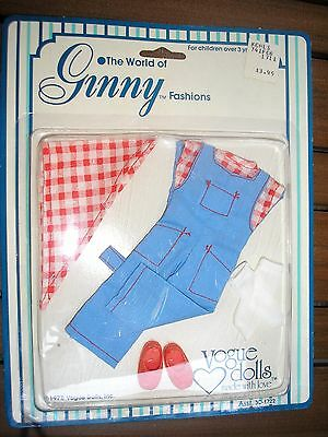 NEW! 1978 Ginny FARMER DUNGAREE'S OUTFIT Clothing - NEVER OPENED!!