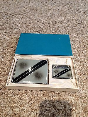 Vintage Brother-Lite Lighter & Cigarette Case Set + Original Box