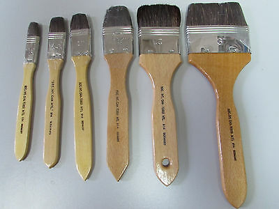 Artist High Quality Varnish Brush 6 Sizes To Choose From
