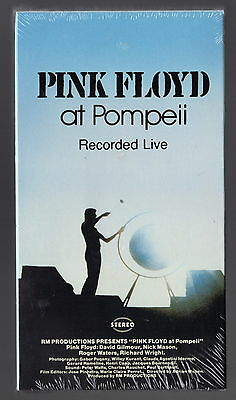 PINK FLOYD At Pompeii Live NEW SEALED VHS Hi-Fi
