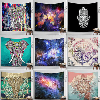 Indian Tapestry Wall Hanging Mandala Hippie Bedspread Throw Bohemian Beach Towel