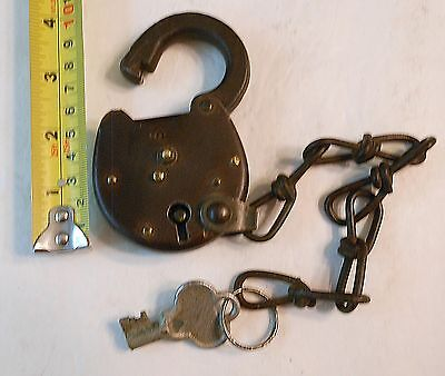Antique, Vintage, Lock , The Yale & Towne Mfg. Co Lock With Key