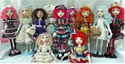 """*new* Cloth Art Doll (E-Pattern) File  Download """"a Style Of Her Own"""""""