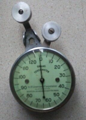Vintage HF Livermore Corp Tensometer Tension Meter For Textiles Allston Station