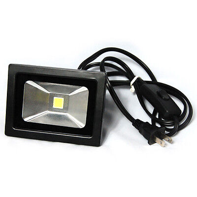 Photography 110 - 220V Photo Studio Black LED Flood Light Lamp Lighting 10Watt