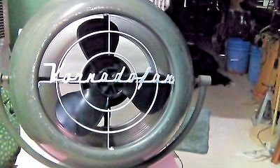 Vtg VORNADO 10D1 Fan 3-Speed Industrial Design Classic Retro Atomic Works Quiet