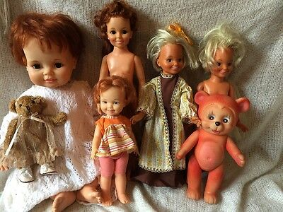 Bulk Lot Of Vintage Chrissy/ Crissy Dolls FREE POSTAGE📦