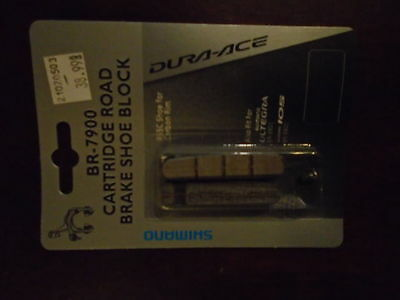 Shimano Dura Ace Br7900 Brake Pads For Carbon Rims, New In The Pack!