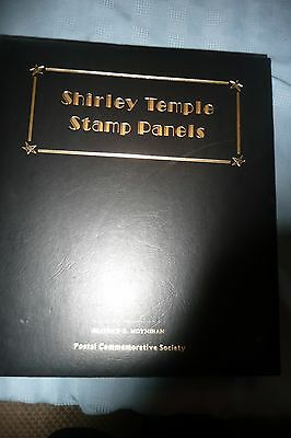 Shirley Temple Stamp Panels album complete Beatrice Moynihan 176 stamps