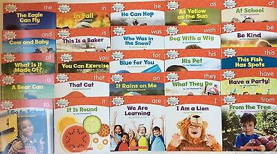 Lot 25 Children's Level A Kindergarten First Grade Learn to Read Books