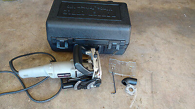 Porter Cable Biscuit Cutter Plate Joiner Model 557 w/ Carry Case