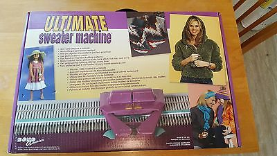Bond America Ultimate Sweater Machine Knitting Machine Excellent Condition