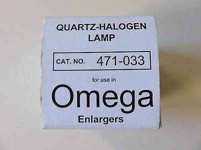 New Quartz Halogen Lamp Bulb 471-033 For Omega Chromega C Dichroic Enlargers