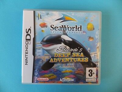 Sea World Shamus Deep Adventures Box only Nintendo DS DSL DSi XL 3DS 2DS PAL