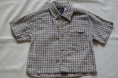 WAVE ZONE Pre Owned Button Up Cotton Shirt ~ Size 0