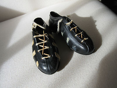 Vintage Pair Miniature Football Soccer Boots Shoes