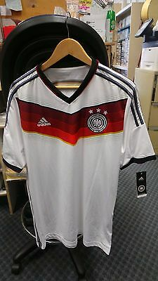 SOCCER JERSEY GERMANY -RED/WHITE/BLACK by ADIDAS - SIZE L