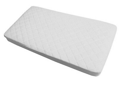 Fitted Waterproof Mattress Pad Protector cover Bed Baby Crib/Toddler New White
