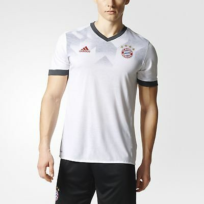 adidas FC Bayern Munich Home Pre-Game Jersey Men's White